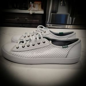 Keds Kickstart leather sneakers size 8.5